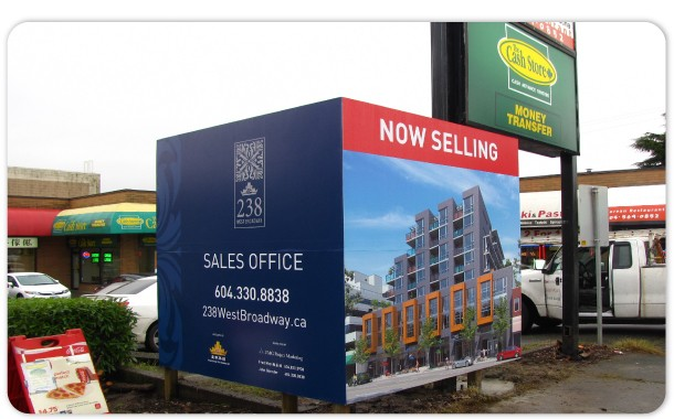 Hoarding Sign Canhwa Signs Amp Awning Manufacturing